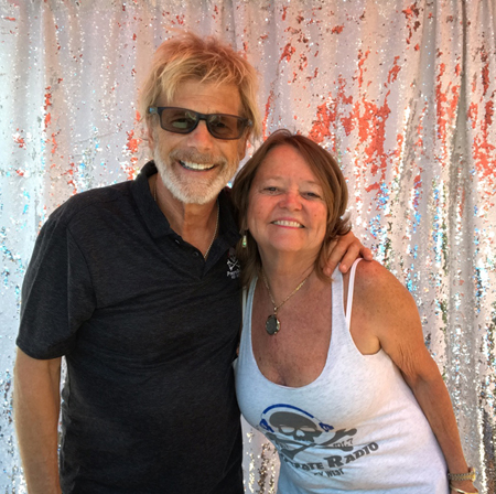 Jack and Kim at Hanks Hair Of The Dog Saloon in Key West.